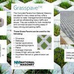 NATIONAL MASONRY - Grasspave
